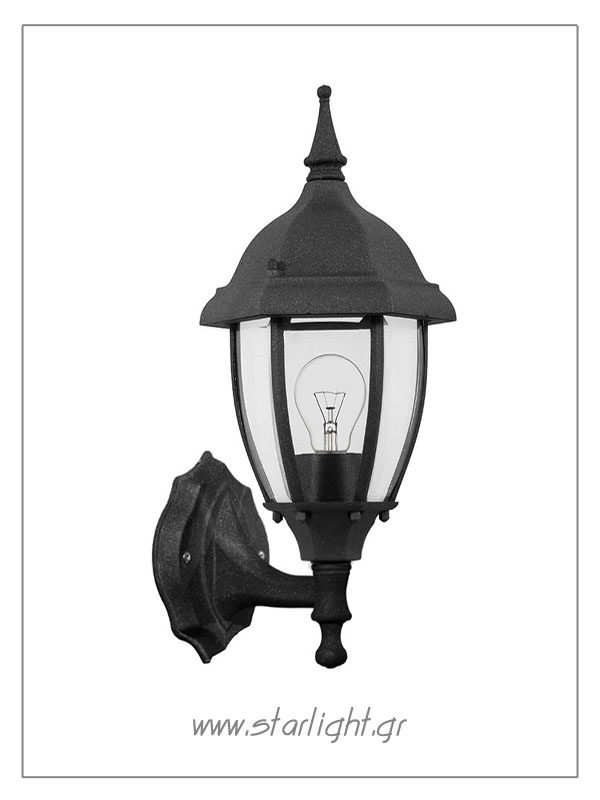 Outdoor wall sconce.