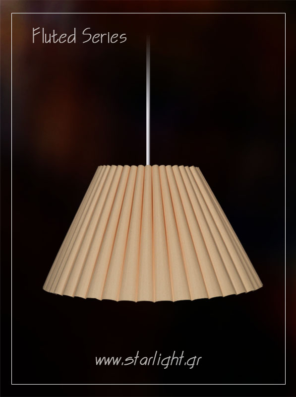 Shade for pendant and table lampshades.