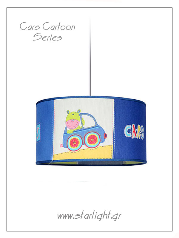 Pendant Children's Lampshades Cars Cartoon