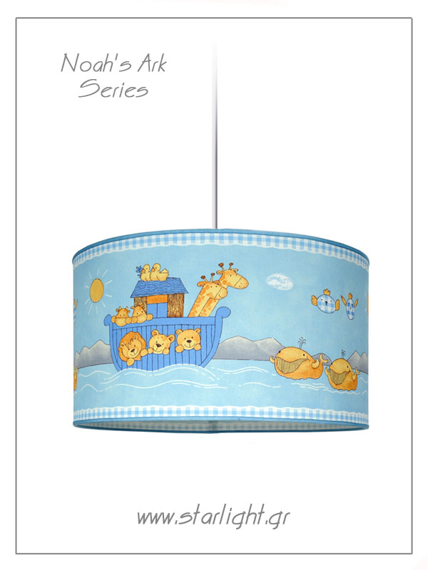 Pendant Children's Lamp shades Noah's Ark