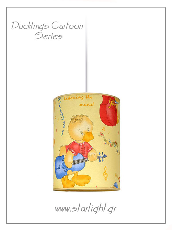 Pendant Children's Lampshades Ducklings Cartoon.