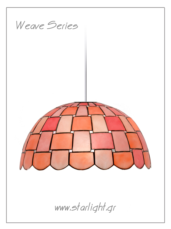 Pendant Tiffany Style lamp shades Wave
