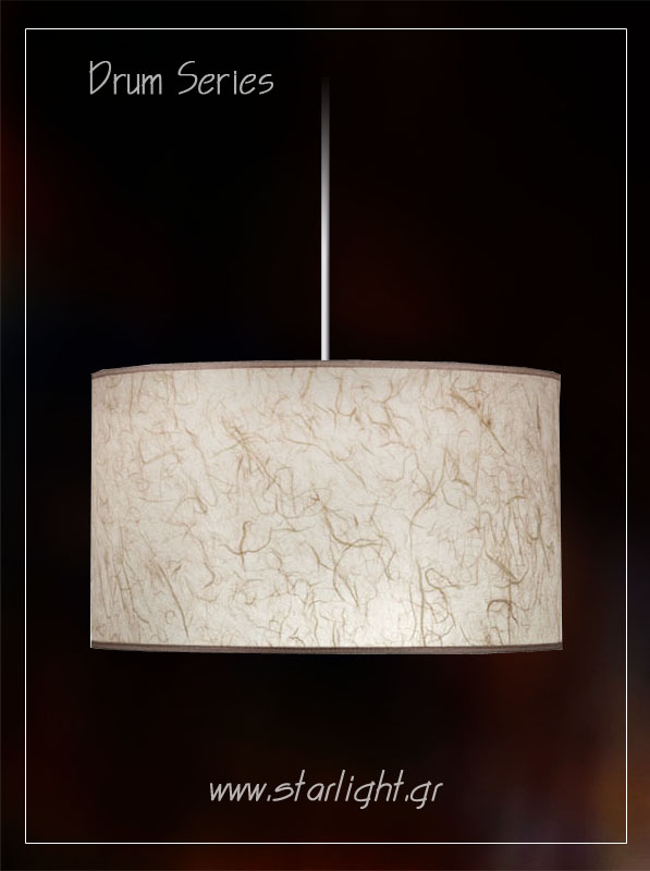 "Cylindrical Light Fixture ""Drum"""