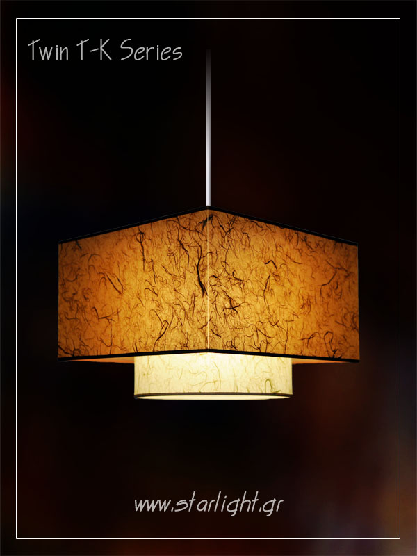 Pendant Light Fixture Twin TK
