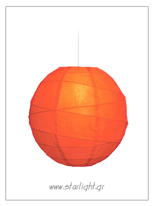 Pendant rice paper lamp shade
